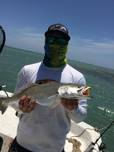 south padre island trout fishing guide