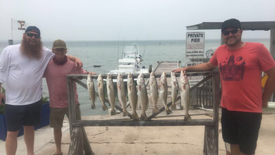 south padre island fishing guides for trout and reds