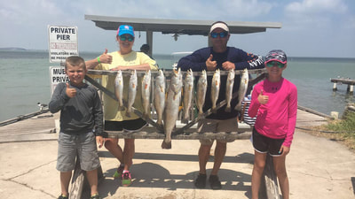 big trout south padre island guide