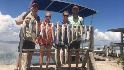 fishing guide south padre island trout